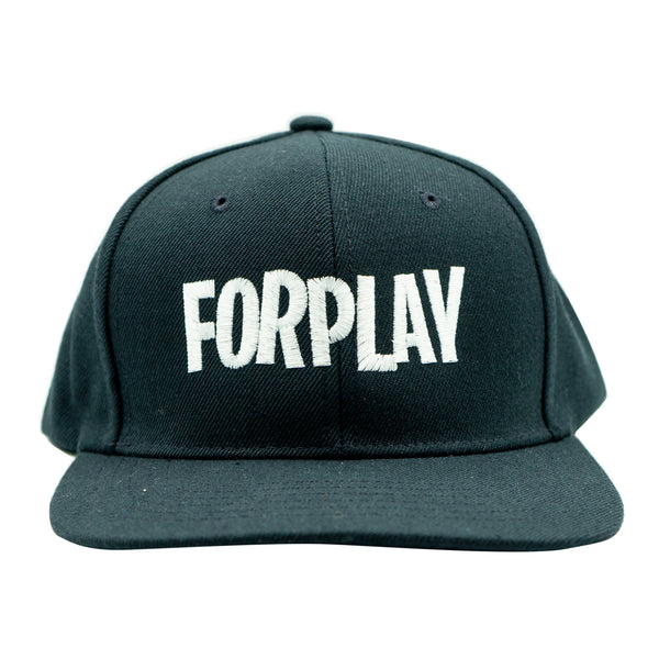 Forplay Snapback - Black