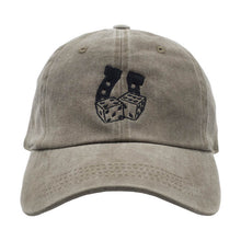 Load image into Gallery viewer, Lucky Dad Hat - Washed Brown