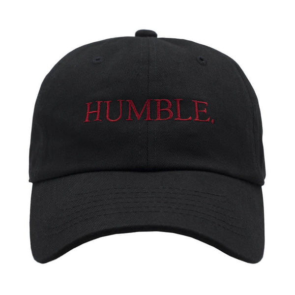 HUMBLE. Dad Hat - Black