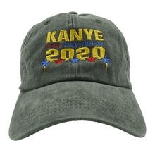 Load image into Gallery viewer, Kanye 2020 Dad Hat - Black Denim - Chill Hat