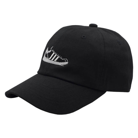 Shell Toe Dad Hat - Black