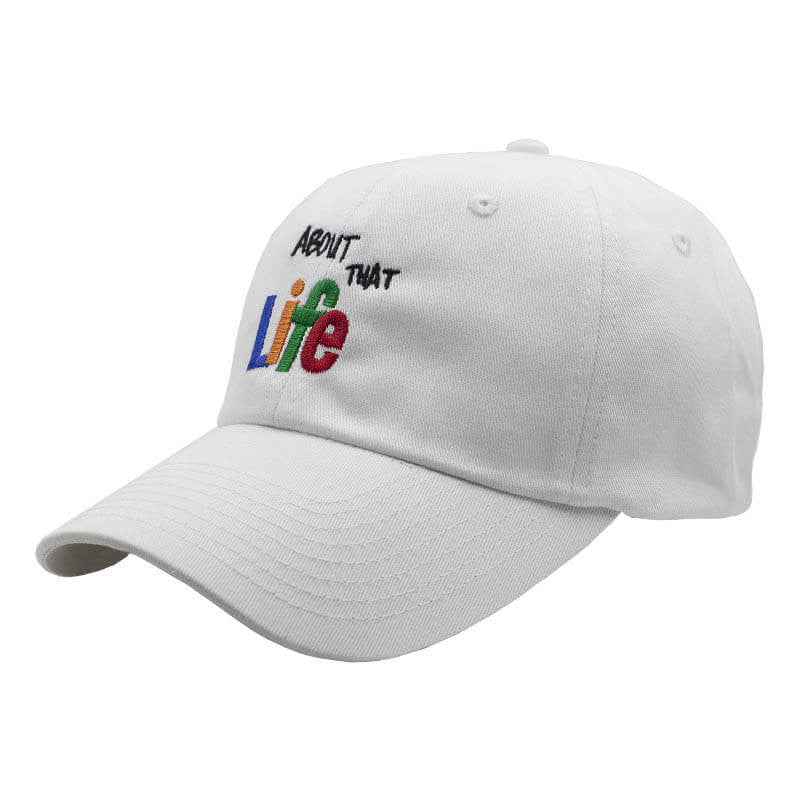 About That Life Dad Hat - White