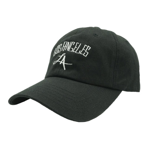 Los Angeles Dad Hat - Black