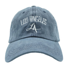 Load image into Gallery viewer, Los Angeles Dad Hat - Blue Denim
