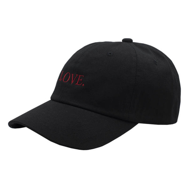 LOVE. Dad Hat - Black