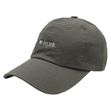 Load image into Gallery viewer, No Filter. Dad Hat - Olive