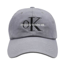 Load image into Gallery viewer, OK Dad Hat - Grey
