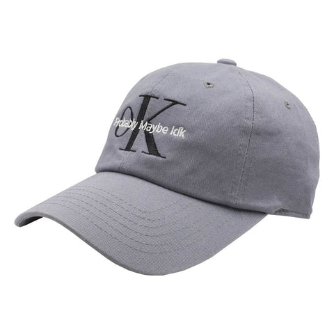 OK Dad Hat - Grey