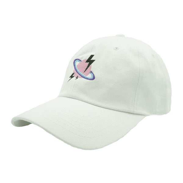 Planetary Dad Hat - White - Chill Hat