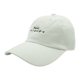 Real Friends Dad Hat - White - Chill Hat