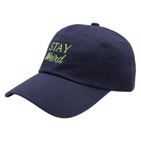 Stay Weird Dad Hat - Navy