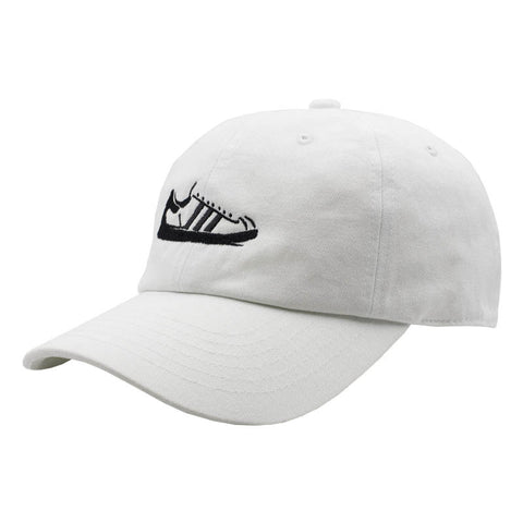 Shell Toe Dad Hat - White