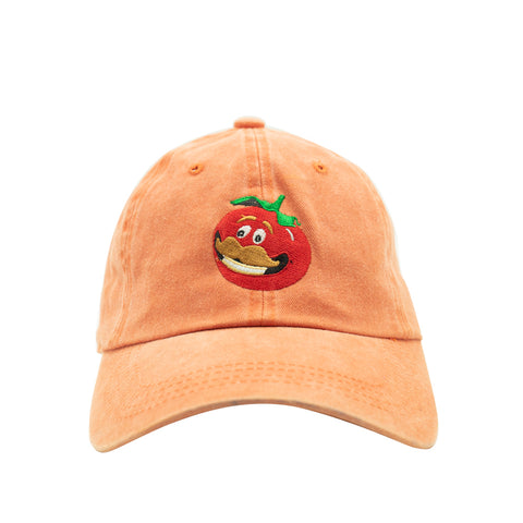 Tomato Pigment Dyed Dad Hat - Orange