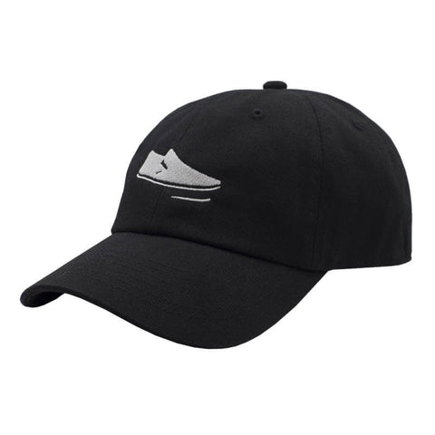 Slip On Dad Hat - Black