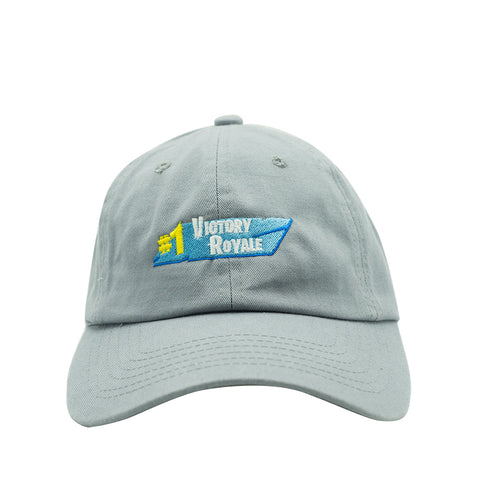 Victory Royal Dad Hat - Grey
