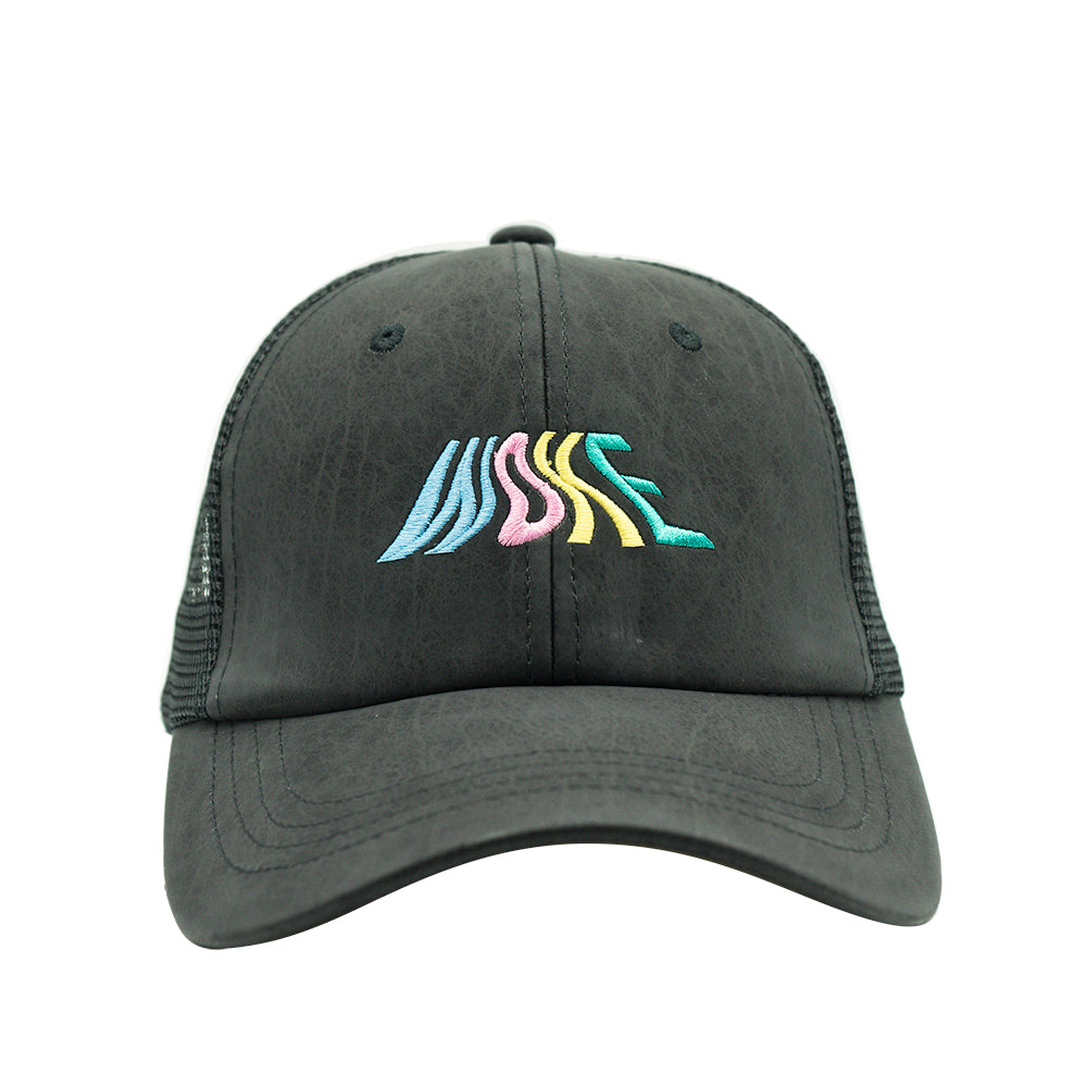 WOKE Mesh Back Dad Hat - Black