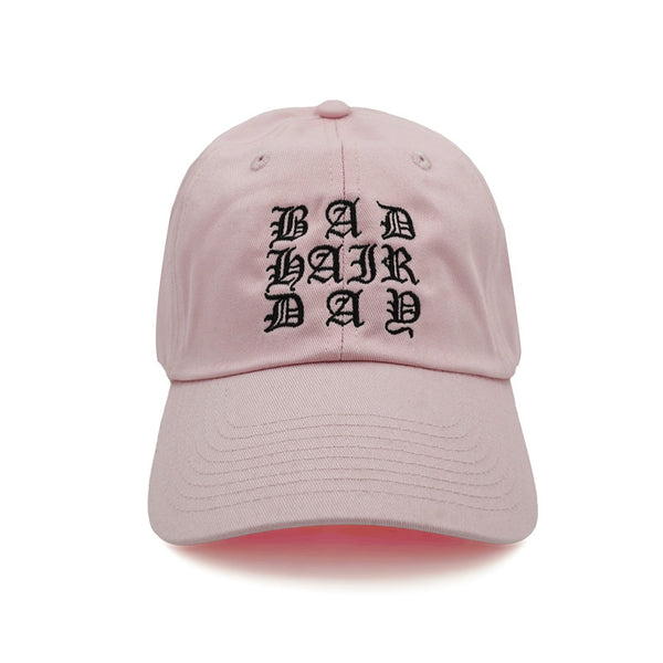 Bad Hair Day Dad Hat - Pink - Chill Hat