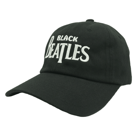 Black Beatles Dad Hat - Black