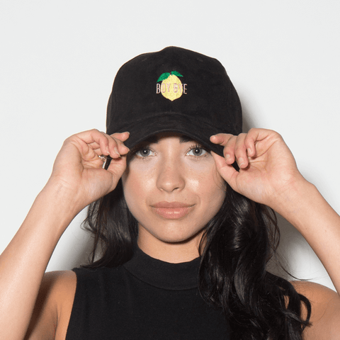 Boy Bye Dad Hat - Black Suede - Chill Hat
