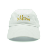 California Dad Hat - White - Chill Hat