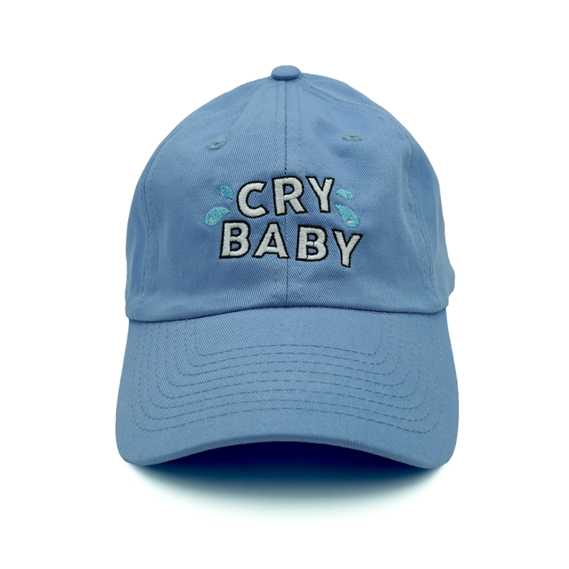 Cry Baby Dad Hat - Blue - Chill Hat