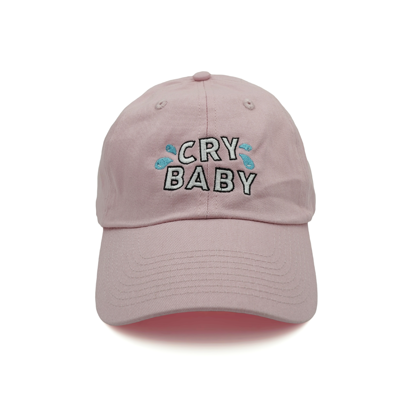 Cry Baby Dad Hat - Pink - Chill Hat