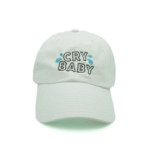 Load image into Gallery viewer, Cry Baby Dad Hat - White - Chill Hat