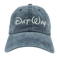 Load image into Gallery viewer, Disney Dat Way Dad Hat - Blue Denim