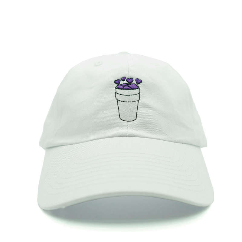 Double Cup Love Dad Hat - White - Chill Hat