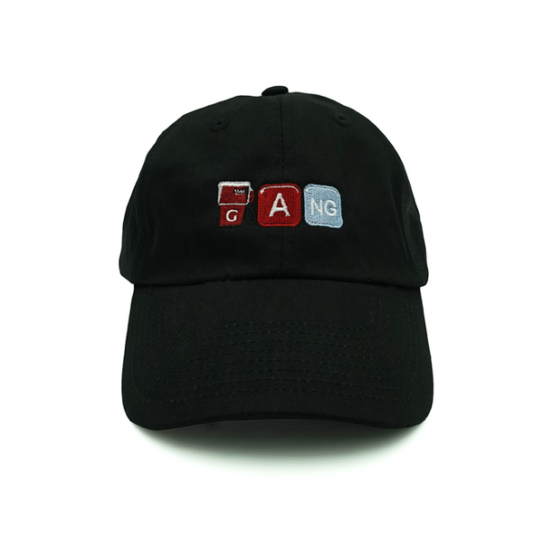 Gang Dad Hat - Black - Chill Hat