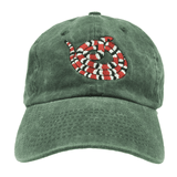 Gucci Snake Dad Hat - Green Denim