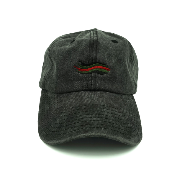 Gucci Wave Dad Hat - Black - Chill Hat