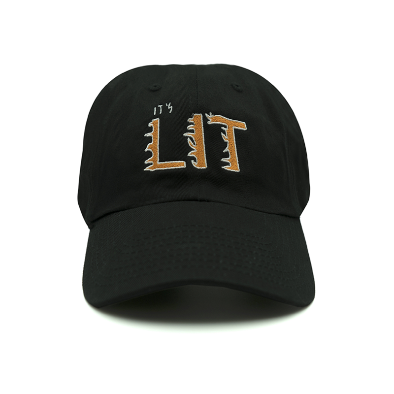 It's Lit Dad Hat - Black - Chill Hat