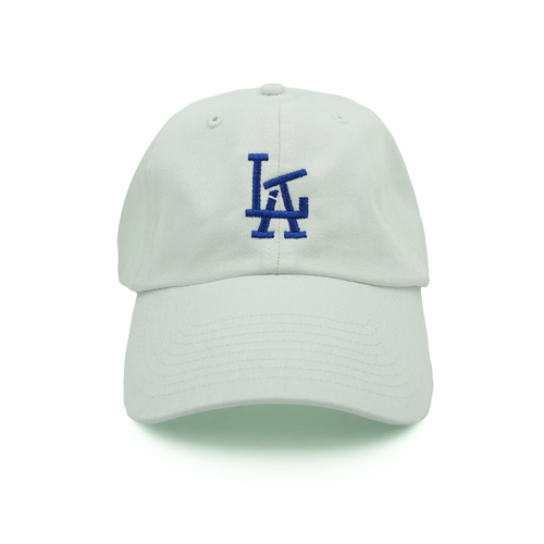 LA Lit Dad Hat - White - Chill Hat