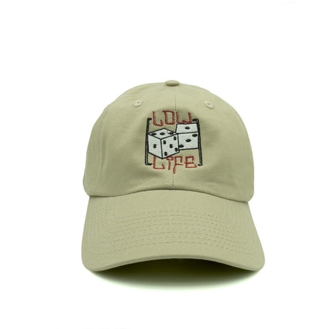 Low Life Dad Hat - Khaki - Chill Hat