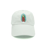 Virgin Mary Dad Hat - White - Chill Hat