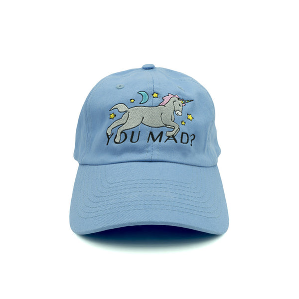 You Mad Dad Hat - Blue - Chill Hat