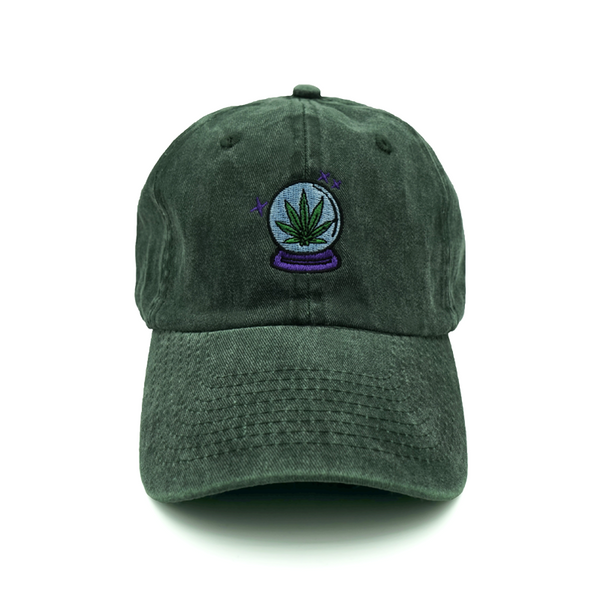 Magical Weed Dad Hat - Green - Chill Hat