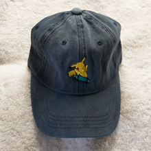 Load image into Gallery viewer, Pokeboard Dad Hat - Blue Denim - Chill Hat