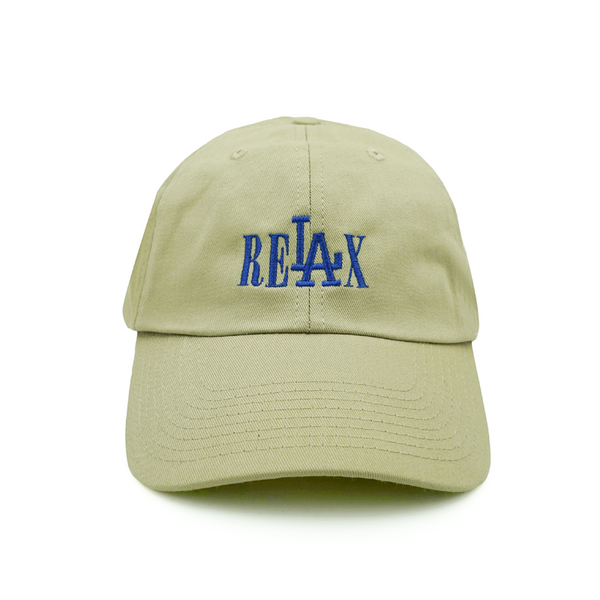 Relax Dad Hat - Khaki - Chill Hat