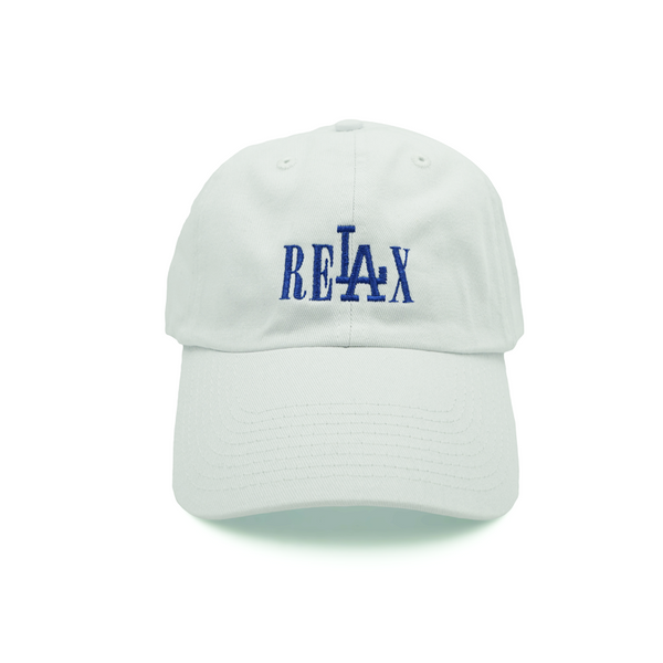 Relax Dad Hat - White - Chill Hat