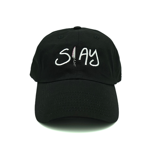 Slay Dad Hat - Black - Chill Hat