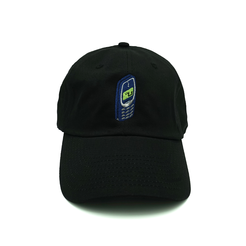 Snake Game Dad Hat - Black - Chill Hat