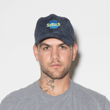 Squad Dad Hat - Navy Suede - Chill Hat