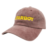 Starboy Dad Hat - Red Denim