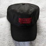 Stranger Danger Dad Hat - Black - Chill Hat