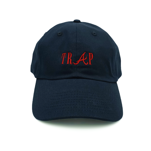 Trap Dad Hat - Navy - Chill Hat