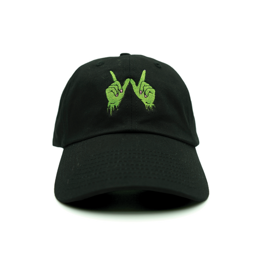 Zombie Whatever Dad Hat - Black - Chill Hat