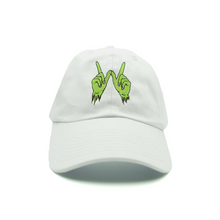Load image into Gallery viewer, Zombie Whatever Dad Hat - White - Chill Hat