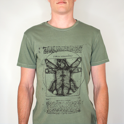 VITRUVIAN: Green limited edition tee